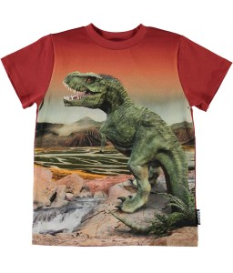 Molo shirt Road Dinosaurs
