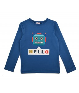 Baba Babywear Longsleeve Robot