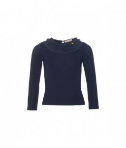 Mim-pi top dark blue